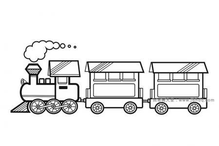漂亮的小火车