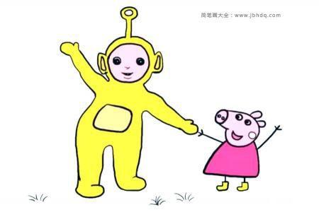 天线宝宝和小猪佩奇