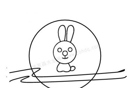 中秋节 月亮里的玉兔