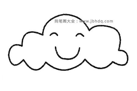 云朵简笔画大全及画法步骤
