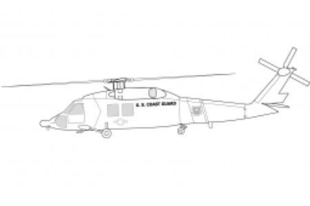 美国海岸警卫队直升机