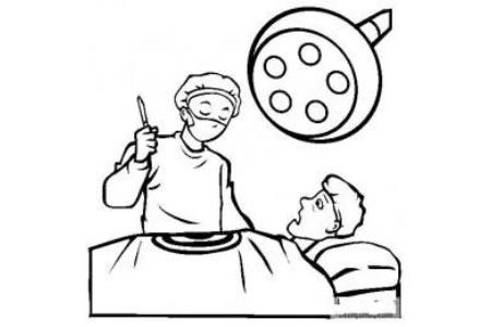 医生图片 外科医生简笔画图片