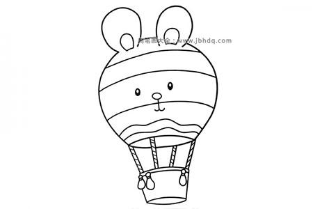 小兔子热气球