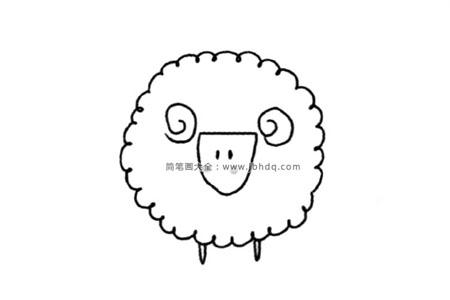 草原上的动物 绵羊
