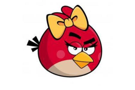 愤怒的小鸟简笔画