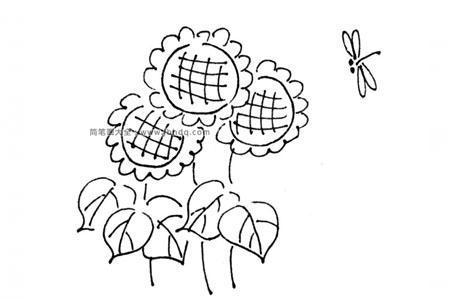 春天里的向日葵
