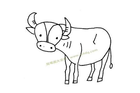 水牛简笔画图片