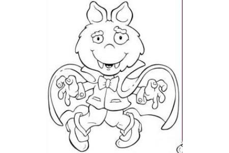 调皮捣蛋的蝙蝠