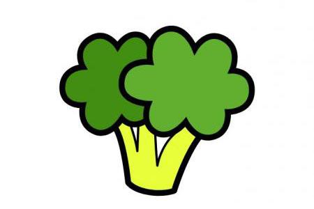 三张卡通蔬菜简笔画图片