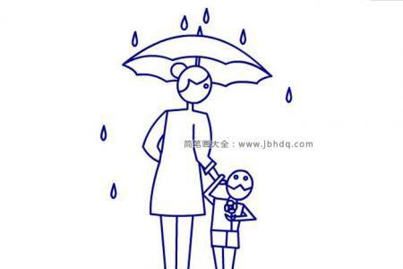 妈妈为我打伞