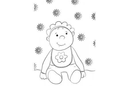 卡通宝宝的画法