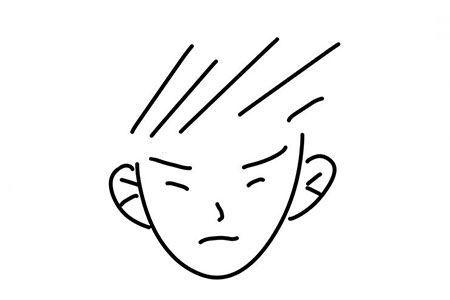6张简单的人物头像简笔画