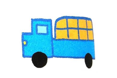 运用简单几何图形画卡车