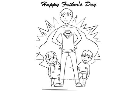 我们的超人爸爸