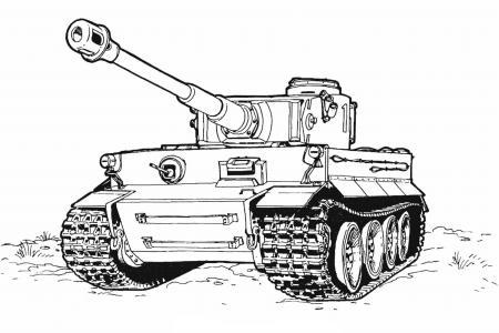 坦克怎么画