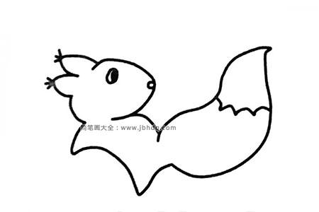 可爱小松鼠简笔画图片