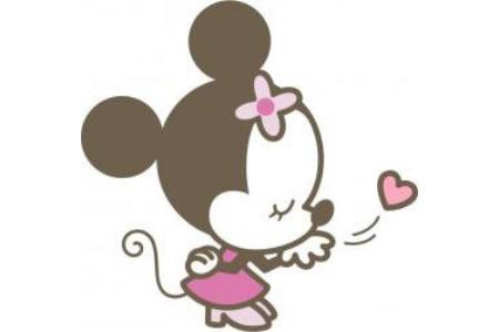可爱米老鼠简笔画图片