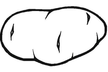 土豆简笔画图片