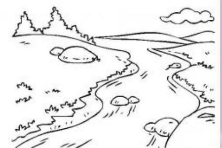 流动的小溪