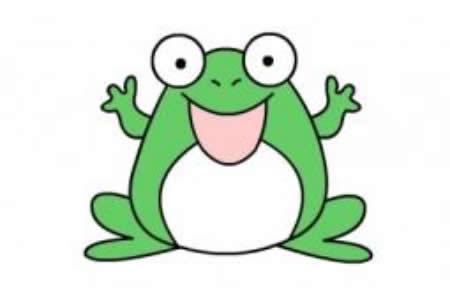 青蛙的绘画分解步骤