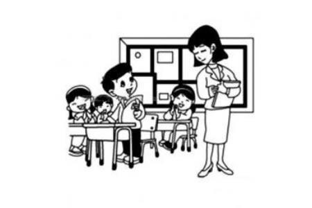 课堂里的老师
