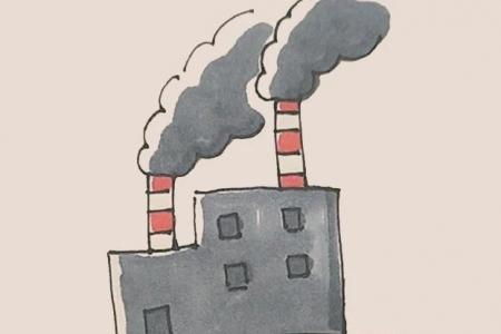 简笔画之工厂