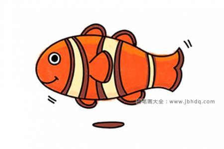 4张可爱的海洋小生物简笔画