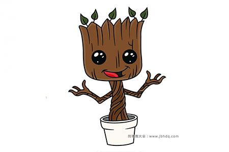 可爱的小树怪