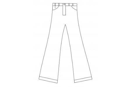 裤子的画法