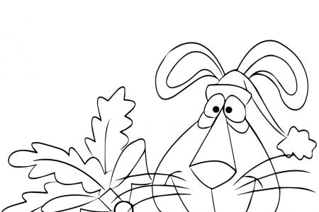 圣诞兔与胡萝卜