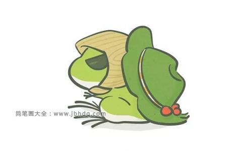 旅行青蛙的画法