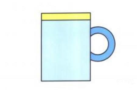 杯子简笔画画法