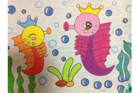 海马妈妈与小海马