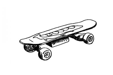 男孩喜欢的滑板车