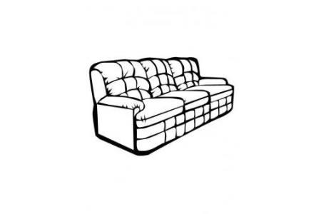 客厅皮沙发