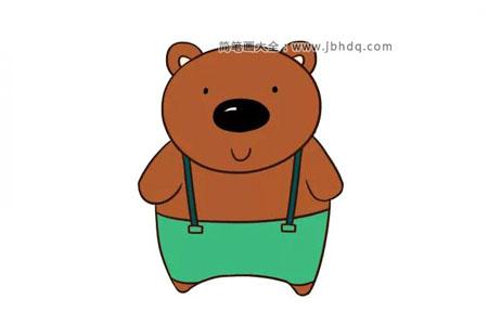 黑黑的小熊