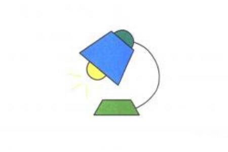 台灯简笔画画法