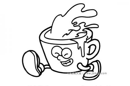 奔跑的咖啡杯