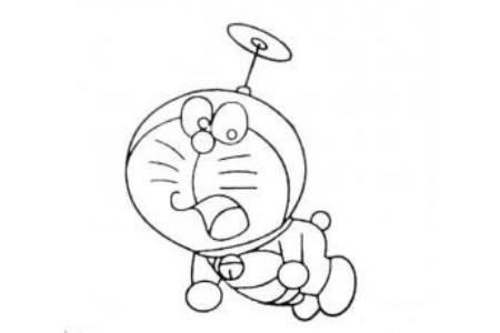 哆啦A梦简笔画大全