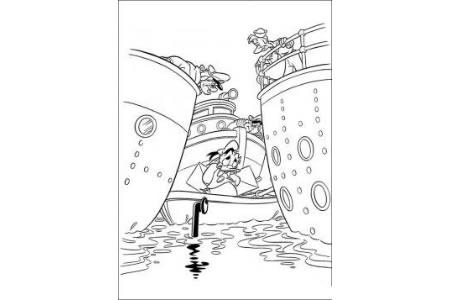 唐老鸭系列简笔画图片
