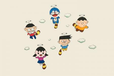 哆啦A梦和它的小伙伴们