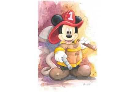 米奇的变身秀迪士尼卡通画作品