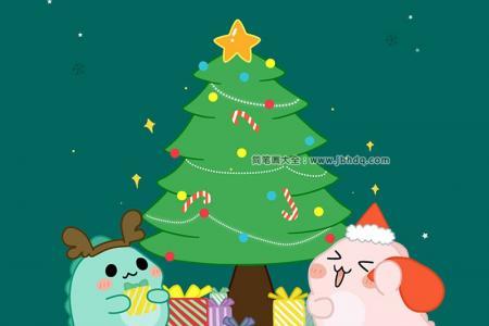 圣诞节空洛洛表情图片