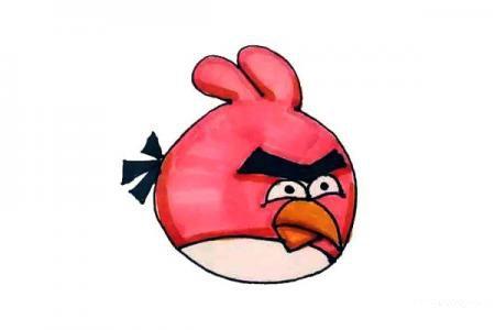 轻松学画愤怒的小鸟