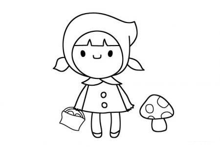 采蘑菇的小红帽