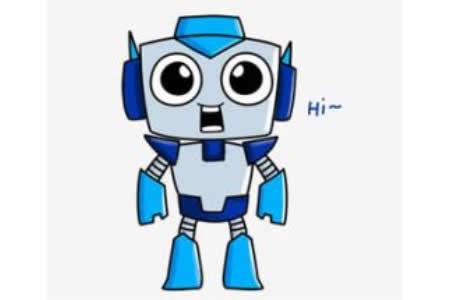机器人简笔画教程