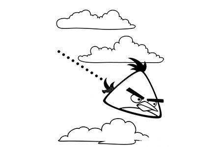 愤怒的小鸟:飞镖黄在攻击