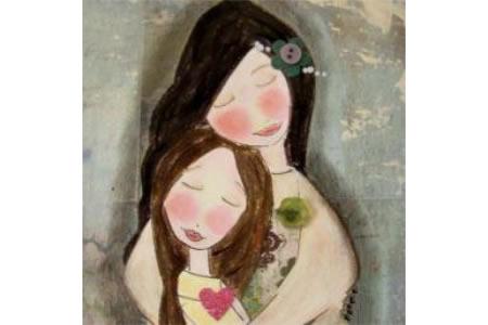 妈妈和我小学生三八妇女节画图片分享