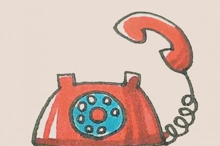 简笔画之电话
