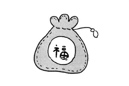 春节的节日元素 红包袋